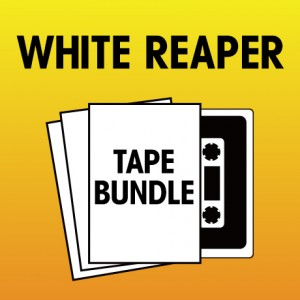 Pick 2 White Reaper Tapes Bundle