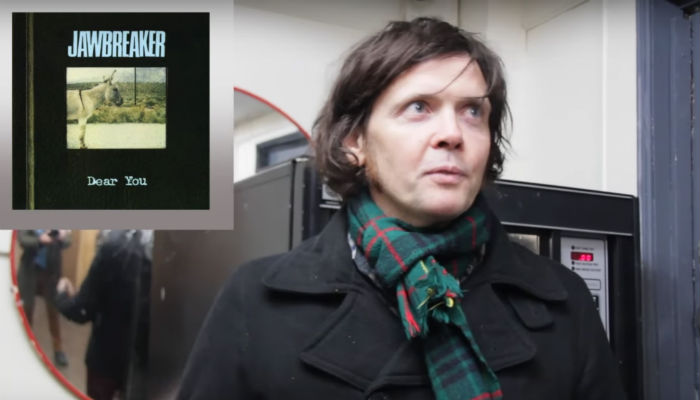James Alex of Beach Slang on an episode of 'Records In My Life'