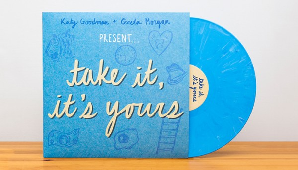 Katy Goodman & Greta Morgan's Covers Album, Take It, It's Yours, Out Now!
