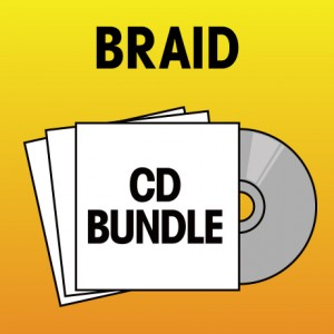 Pick 3 Braid CDs Bundle