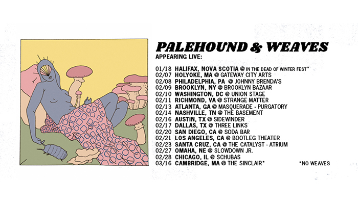 Palehound announces 2018 co-headline tour with Weaves