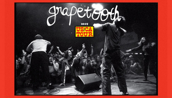 Grapetooth announce first ever North American tour including Pitchfork Music Festival