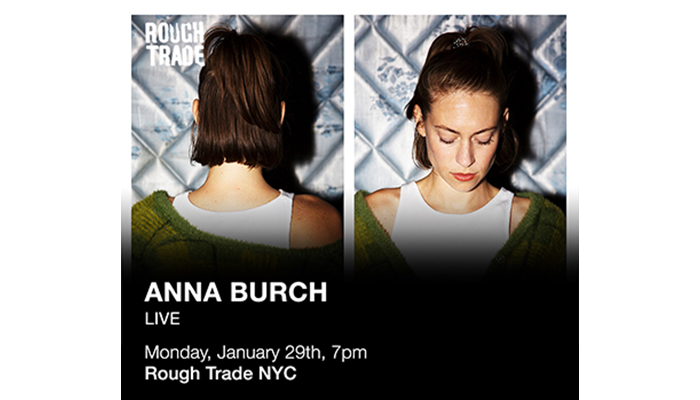 TONIGHT! Anna Burch FREE In-Store @ Rough Trade NYC