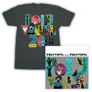 Polyvinyl Plays Polyvinyl  PV20 by Jesse LeDoux T-Shirt