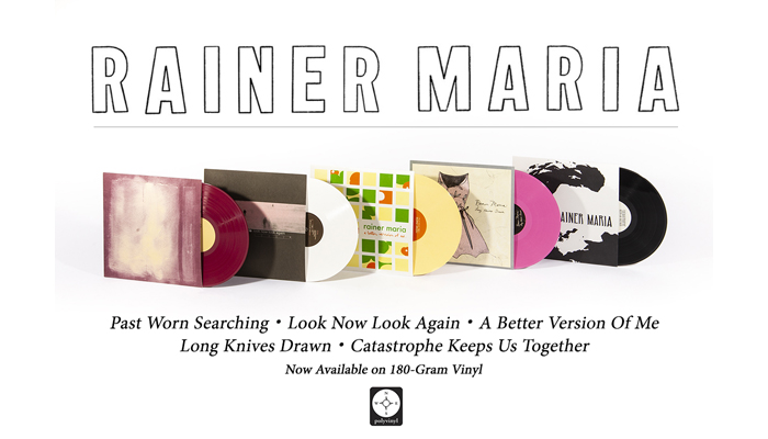 Rainer Maria reissues! Five classic records available now on vinyl, including Catastrophe Keeps Us Together first ever LP pressing