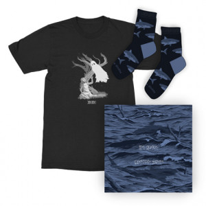 Certainty Waves  Ghost T-Shirt  Sharks Socks