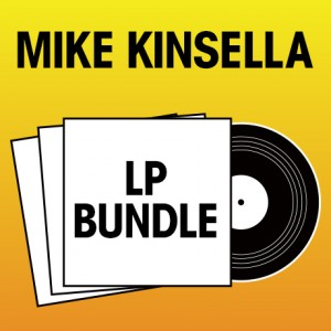 Pick 3 Mike Kinsella LPs Bundle