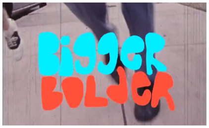 New Love Is All Video 'Bigger, Bolder' Debuts on Pitchfork TV!