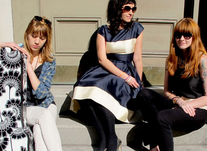 Vivian Girls Team Up w/ Kate Spade For Pop Up Shows