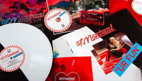 Stream of Montreal's energizing UR FUN – out everywhere today!