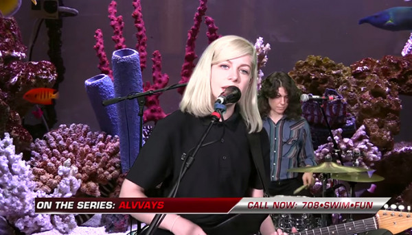 Alvvays stopped by Adult Swim's FishCenter to perform