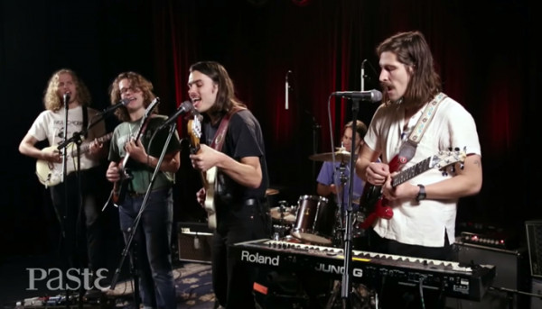Post Animal stopped by Paste Studios in NYC for a quick live session on their current US tour
