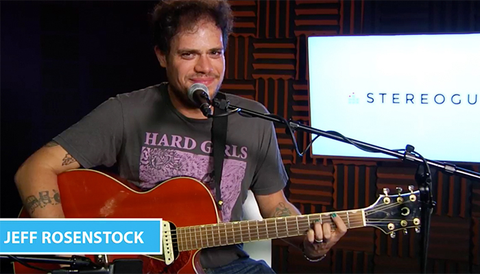 Jeff Rosenstock performs an acoustic Stereogum Session + adds second NY show at Warsaw