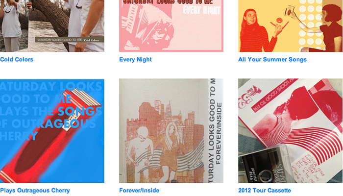 Stream Rare Recordings on Saturday Looks Good To Me's Bandcamp