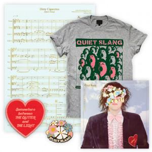 Everything Matters But No One Is Listening  Choir T-Shirt  Heart  Gutter Patch  Bouquet Pin  Sheet Music Screen Print