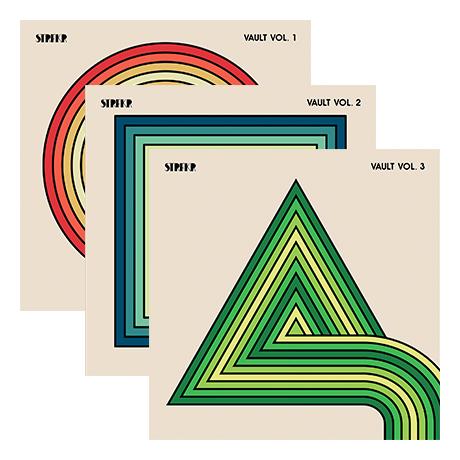 Vault Series (Vol  1-3) 3 LPs Bundle - STRFKR - Merch
