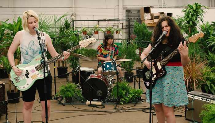 Audiotree shares Far Out session with Palehound performing live in a flower shop