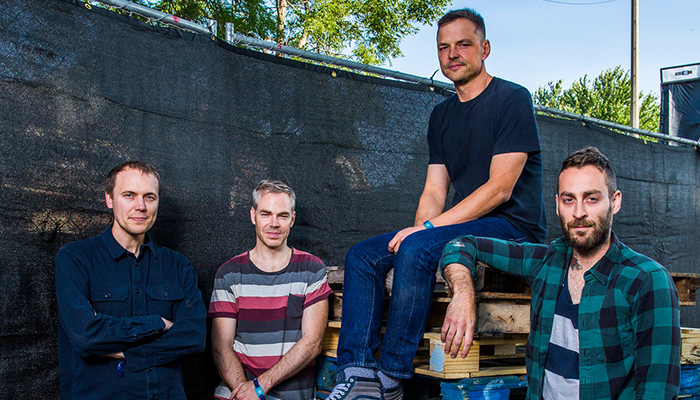 Watch American Football's full set from Pitchfork Music Festival