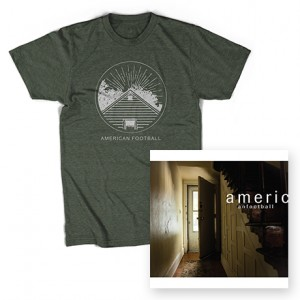 American Football LP2  Home Is Where the Haunt Is T-Shirt