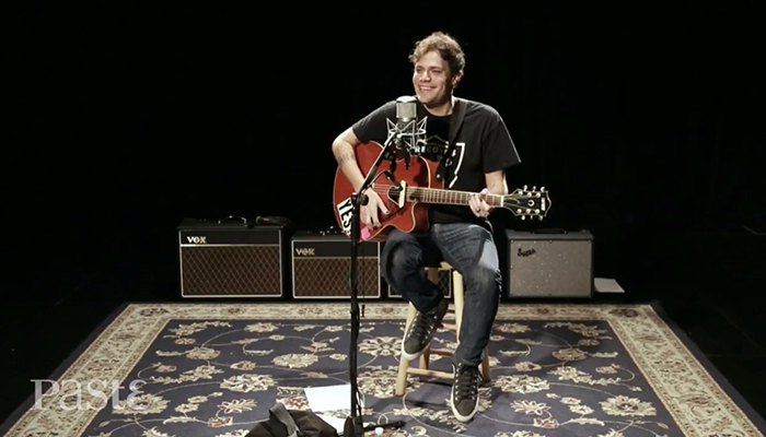 Jeff Rosenstock performs a solo set at Paste Studios in New York
