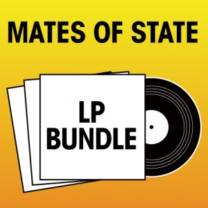 Pick 2 Mates of State LPs Bundle