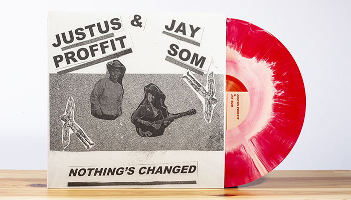 Justus Proffit & Jay Som's collaborative EP arrives today!