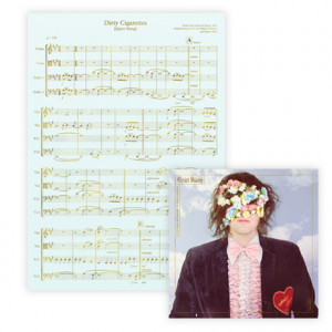 Everything Matters But No One Is Listening  Sheet Music Silk-Screened Print