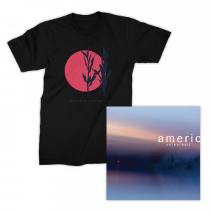 American Football LP3  Red Sun T-Shirt